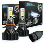 JDM ASTAR 2x 9012 8000LM Extremely Bright 60W LED Headlight Low beam Fog Bulbs