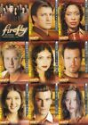 FIREFLY THE COMPLETE COLLECTION 2006 INKWORKS COMPLETE BASE CARD SET OF 72 TV