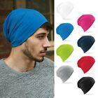 Jersey Stretch Slouch Beanie Hat Sports Running Cycling Soft Lightweight Cotton