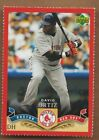 David Ortiz Baseball Cards, Rookie Card Checklist, Autograph Guide 9