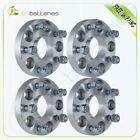 4X 25mm 1 5x1143 Hubcentric Wheel Spacers 12x15 For 2003 2006 Acura MDX