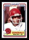 1984 Topps USFL Football Cards 17