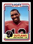 1984 Topps USFL Football Cards 18