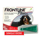 Frontline Plus for X Large Dogs 89 132 lbs Single Dose