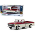 New 1973 Ford F 100 Ranger Pickup Truck Red and Cream 1 18 Diecast Model Car by