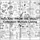 Hero Arts FROM THE VAULT Clear Stamp Sets Pick Bugs Travel Beach Animals