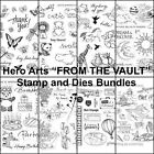 Hero Arts FROM THE VAULT Clear Stamps and Dies Bundle Pick Favorite