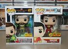 Funko Pop! MYSTERIO and SHAZAM Hot Topic Exclusives - NM to M, NEW!