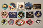 NASA PATCH LOT 15 Space Program  Shuttle STS Mission ISS Spacelab Patches ++++