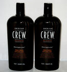 2 X American Crew Firm Hold Hair Gel 33.8 oz Liter Duo Set No Flaking 2 PACK