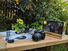 Nikon D5000 DSLR Camera + 18-55mm VR Lens - EXCELLENT condition! - BOXED!
