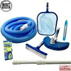 Pool Maintenance Kit Swimming Cleaning Supplies Above Ground Pole Skimmer Hose