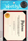 Jolees By You Stickers LARGE DIPLOMA School College Graduation Scrapbook Card