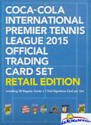 (4)2015 Epoch Premier Tennis League 38 Card Retail Box+Foil Facsmile Signature!
