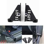 2x Front Foot Pegs Anti skid Pedal Foot Rest Panel for 07 18 Jeep Wrangler Truck