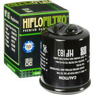 Hiflo Oil Filter Black Aprilia/Piaggio Mojito 150 Custom/Atlantic 200/Fly 150