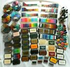 HUGE LOT COLOR BOX Petal Point Paintbox Crafters Brush Ink Pads