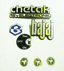 Bajaj Chetak Emblems Badges 150 12 Volt Electronic Badge Decal Kit scooter