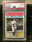 BABE RUTH 1976 TOPPS ALL TIME STAR PSA 6 --- NEW YORK YANKEES