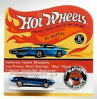 2018 HOT WHEELS RLC 50th CUSTOM PONTIAC FIREBIRD Original 16 REDLINES 2331 6000