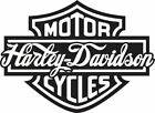 Vinyl Decal Harley Davidson Sticker Car Window Bumper Motorcycle