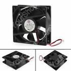 DC Brushless Cooling Case Fan 24V 12038s 120x120x38mm 2 Pin Wire Cooler Fan UE