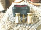ANTIQUE Lemaire PARIS OPERA GLASSES Binoculars MOTHER OF PEARL BRASS