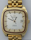 Huge 1970s Mens Omega Automatic Constellation Gold over Steel Wrist Watch