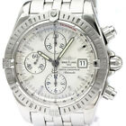 Polished BREITLING Chronomat Evolution Steel Automatic Watch A13356 BF339692