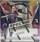 2018 19 PANINI SPECTRA BASKETBALL HOBBY BOX
