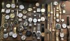 HUGE VINTAGE WATCH LOT.CARAVELLE,CERTINA,WALTHAM,LORD ELGIN,SEIKO...54 TOTAL!