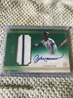2017 TOPP DEFINITIVE ANDRE DAWSON AUTO RELIC GREEN #'d 02 10 CUBS