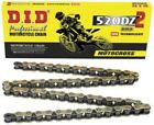 DID 520 DZ2 Chain 120 Links Gold #520DZ2-120