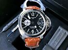 "Panerai Luminor PAM 88 GMT Series ""J""-Steel Watch-44MM -Boxes/Papers-Mint"