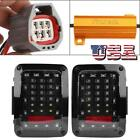 1 pair Auto LED Tail Lights Brake Lights for Jeep Wrangler JK 2007 2016 US
