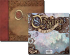 Once Upon a Time Scrapbook Album  Glitter Paper Stack Lot DCWV