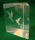 KOSTA Vicke Lindstrand Signed BIRDS IN CAGE Swedish Art Glass VERY RARE