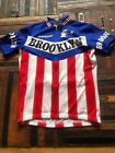 Brooklyn Campagnolo Giordana Racing Bicycle Cycling Jersey Short Sleeve Size S