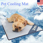 Dog Cooling Non Toxic Mat Pet Cat Summer Cool Bed Puppy Heat Relief Pad Cooler