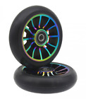 aibiku Pro Stunt Scooter Wheel 100mm Replacement Wheels ABEC 9 Bearing 2 PCS