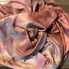 Hand Dyed silk Fabric silk mulberry  35 x 40 inches  hand dyed