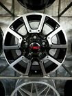 Brand New 5x150 18x80 Black Machine Tundra Style Truck Rims Wheels For Toyota