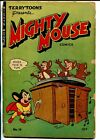 Mighty Mouse 14 1949 ST John vintage record player cover G