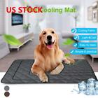 Pet Cooling Mat Pad Gel Cooler For Dog Crate Bed Comfort Chilly Beds S 2XL New