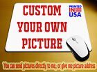 Custom printed mouse pad Photo logo design Image or text personalized mousepad