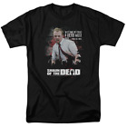 Shaun Of The Dead Hero Must Rise Short Sleeve T Shirt Licensed Graphic SM 7X