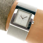 DKNY Womans Watch NY3329 Solid Stainless Steel Silver Dial Mesh Band 30m Working