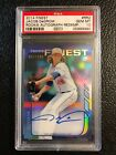 2014 Topps Finest Baseball Rookie Autograph Redemptions Revealed 5