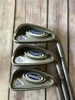 Ping G5 567 Irons Blue Dot TFC 100i Graphite soft Regular Flex Shafts