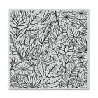 Hero Arts JUNGLE Background Cling Bold Prints Stamp 6x6 2019